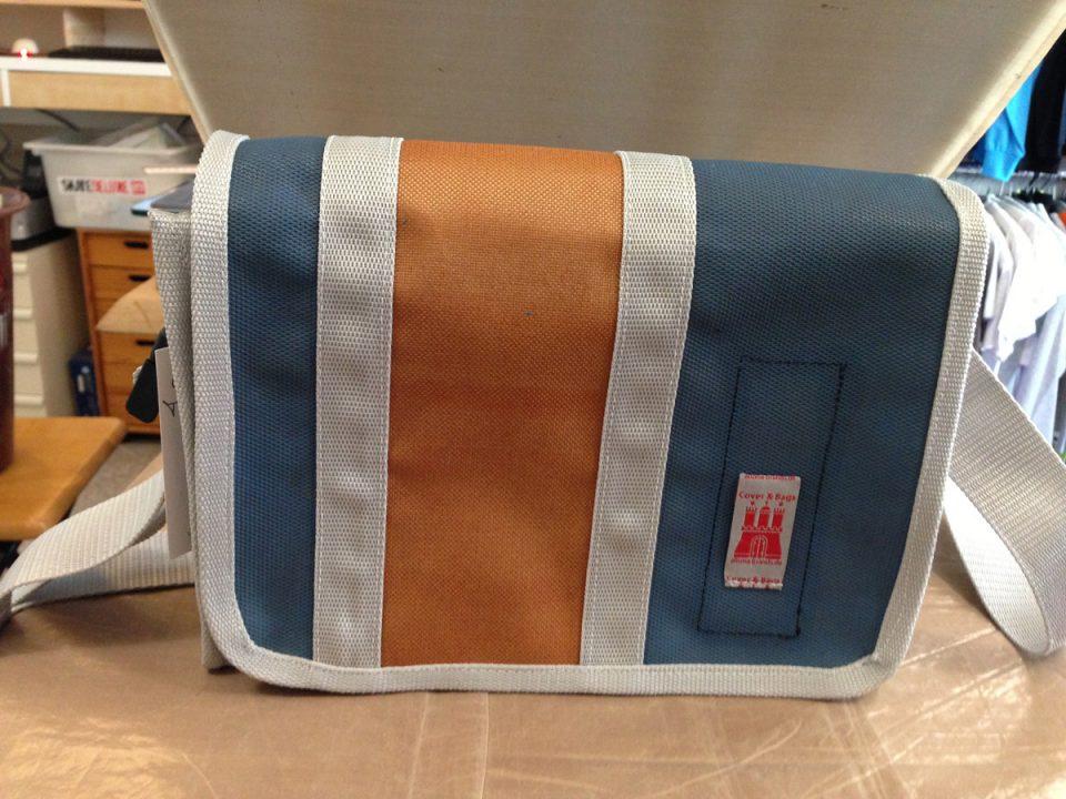 Tasche aus alter Turnmatte