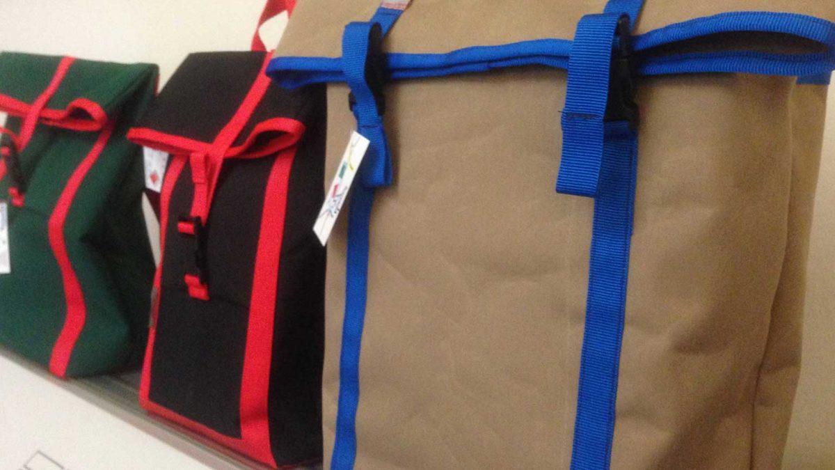Rucksack aus Pesenning