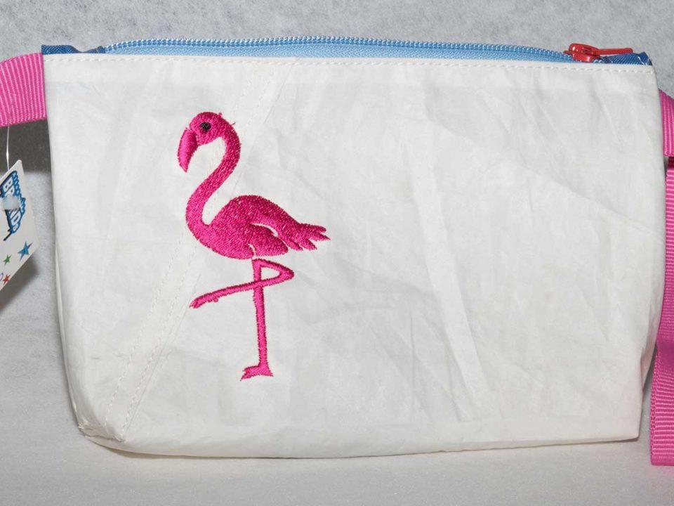Flamingotasche