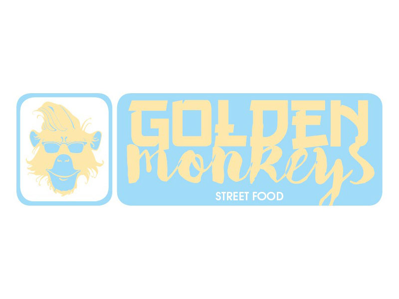 Golden monkeys street food